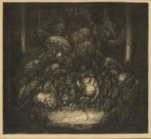 Hos Trollen by John BAUER
