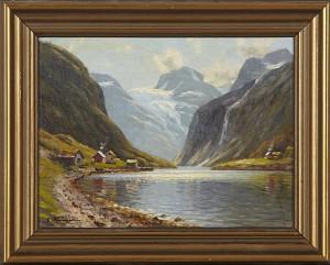 Loenvann I Nordfjord by Emma Pastor NORMANN