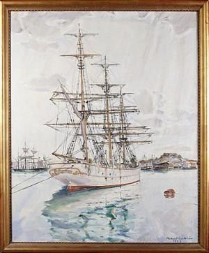 Fartyget Abraham Rydberg by Rikard LINDSTRÖM