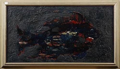 Fisk, Tillskriven by Stig LINDBERG