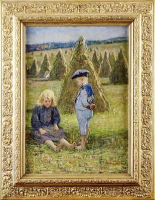 Barn I Skördetider by Emma TOLL
