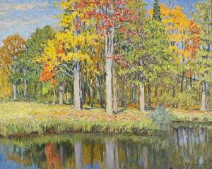 Autumn Landscape by Nikolai Petrovich BOGDANOV-BELSKY