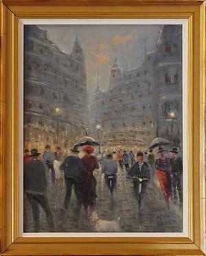 Parisgata by Bengt FRANSSON