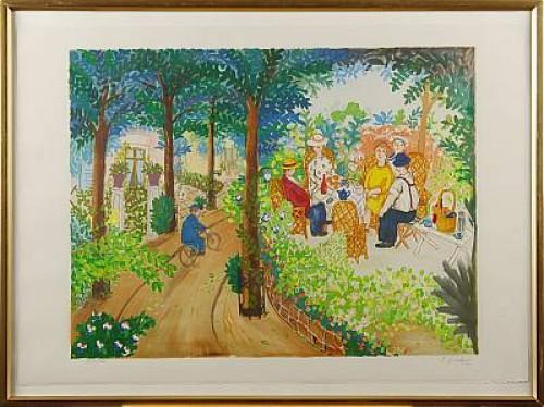 Trädgården by Lennart JIRLOW