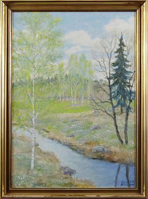 Vårbäck by Hans Erik ERIKSSON