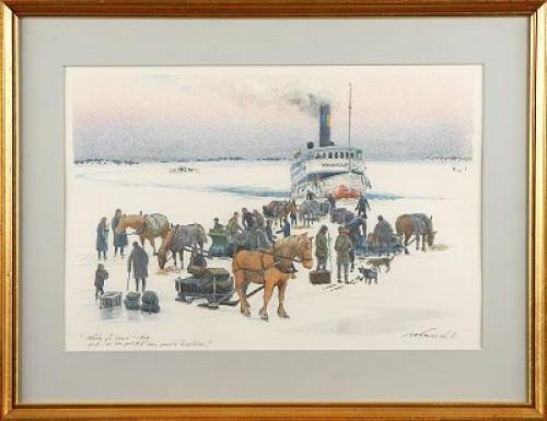 Möte På Isen by Roland SVENSSON