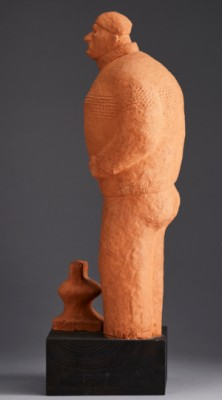 Skulptur, Fiskargubbe by Lars ROLF