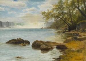Niagara Falls by Albert BIERSTADT