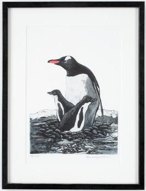 Motiv Av Pingviner by Svenerik JAKOBSSON