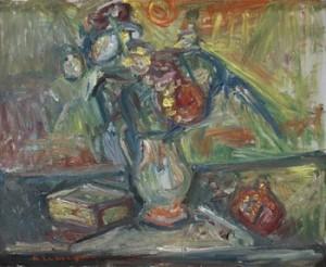 Stilleben by Pinchus KREMEGNE