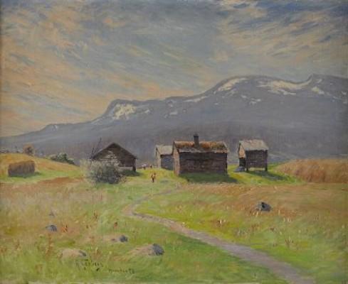 Norrländsk Fäbovall by Anton GENBERG