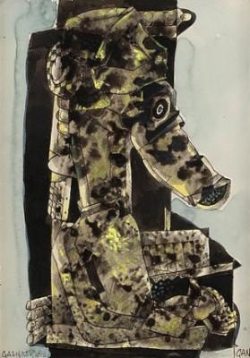 Gasmask by Gösta 'Gan' ADRIAN-NILSSON