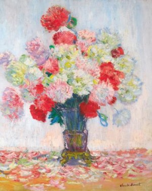 Vase De Pivoines by Claude MONET