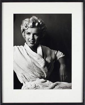 Marilyn I Badrock. äkthetsintyg á Tergo by George BARRIS