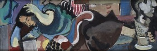 Liggande Kvinna by Acke OLDENBURG