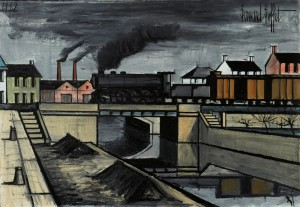 Paysage à La Locomotive by Bernhard BUFFET