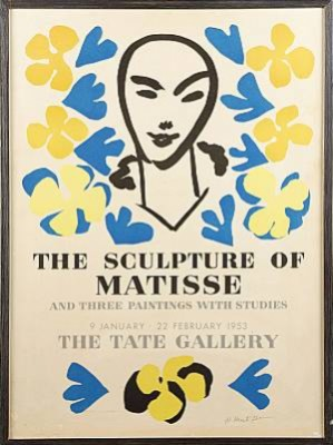The Sculptures Of...1953 by Henri MATISSE
