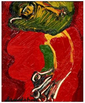 Röd Mask by Bengt LINDSTRÖM