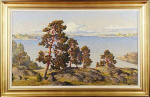 Skärgårdsmotiv by Karl BERGMAN