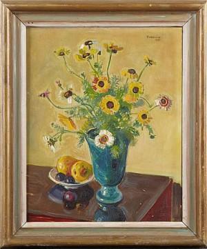 Blomsterstilleben by Eric NORDLÖW
