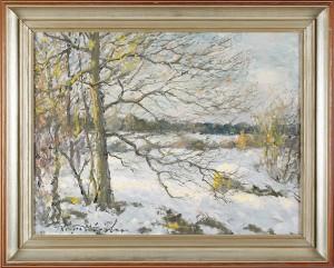 Tidig Snö by Birger HJELM