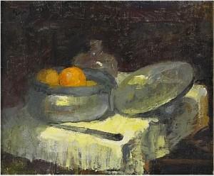 Apelsiner I Tennskål by Eva BAGGE