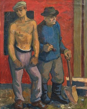 Two Workers by Onni OJA