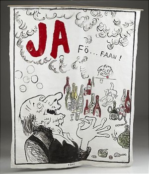 Självporträtt - Ja, Fö... Faan by Lars HILLERSBERG