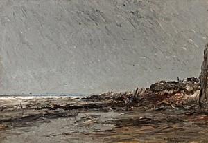Strandparti by Wilhelm Von GEGERFELT