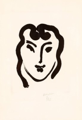 Patitcha Souriante by Henri MATISSE