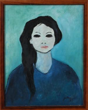 Porträtt Av Kvinna by Sukmantara JEIHAN
