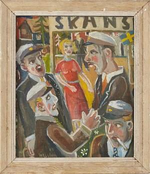 Skansen by Lars WELLTON