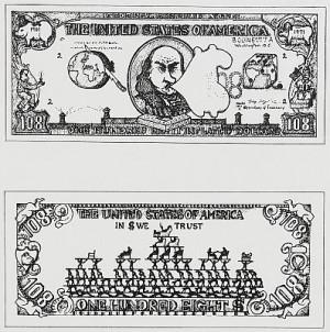 $ 108 Bill by Öyvind FAHLSTRÖM