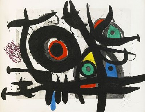 L Oiseau Destructeur by Joan MIRO