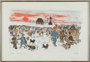 Jokkmokks Marknad by Lars (Sami Artist) PIRAK