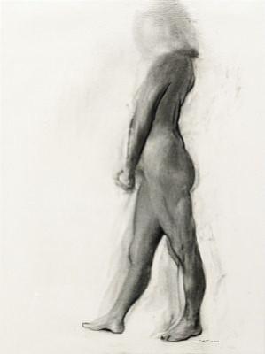 Modellteckning by John-Erik FRANZÉN