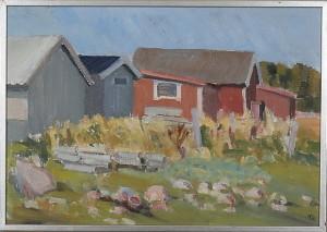 Sjöbodar by Tage E. NILSSON