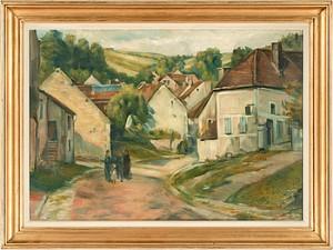 Molosmes - Yonne by Emile Henri BERNARD