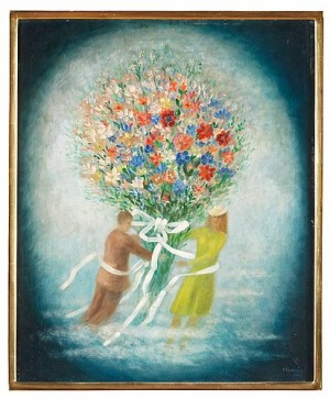 Den Stora Blomsterbuketten by Esaias THORÉN