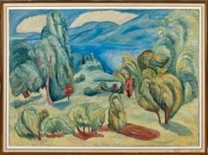 Utsikt Fra Skogsholt by Rudolph THYGESEN