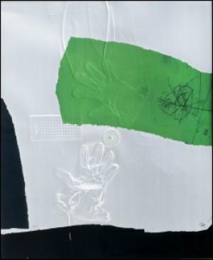 Handprint by Antoni CLAVÉ