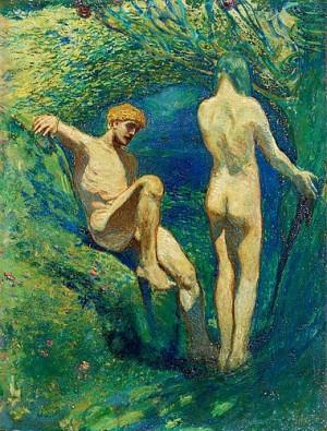 Adam Och Eva by Bror HILLGREN