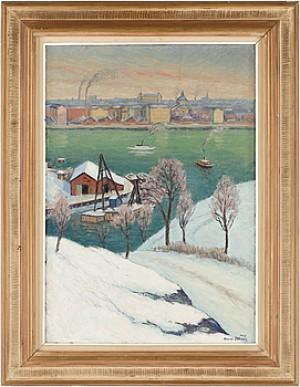 Utsikt över Stockholm by Arvid NILSSON