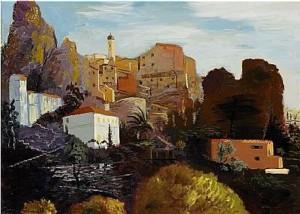 Morgonen, Roquebrune by Isaac GRÜNEWALD