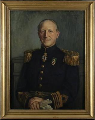 överste Frey Allbrandt by Elsa SCHULTZ-MOBERGER