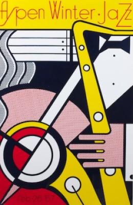 Aspen Jazz by Roy LICHTENSTEIN