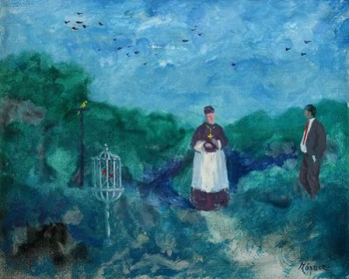 Det Skamlösa Samtalet Om Fåglar - I Kardinalens Trädgård by Stellan MÖRNER