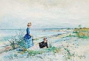 Utflykt Till Norderstrand, Gotland by Anna GARDELL-ERICSON