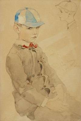 Lille Charles by Carl LARSSON