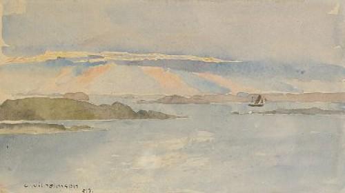 Motiv Från Fiskebäckskil by Carl WILHELMSON